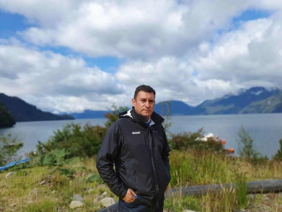 <p>Fernando Villarroel, gerente general de Mowi Chile</p>