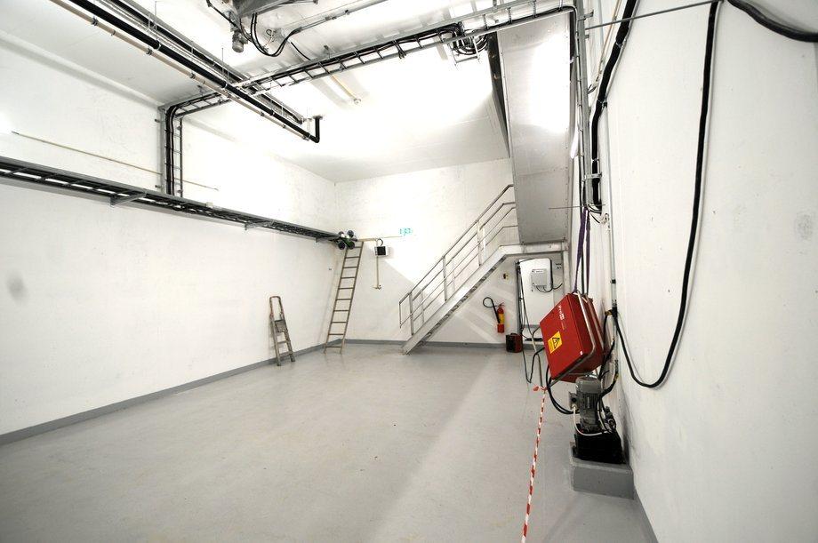 <p>Betongflåens rom er store og åpne og gir fleksibilitet i utnyttelsen.</p>