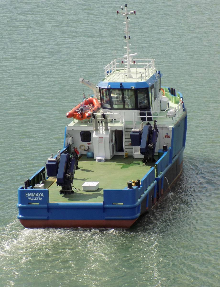 The Emmaya is a major investment for Fish and Fish Ltd. Photo: SMS Group.