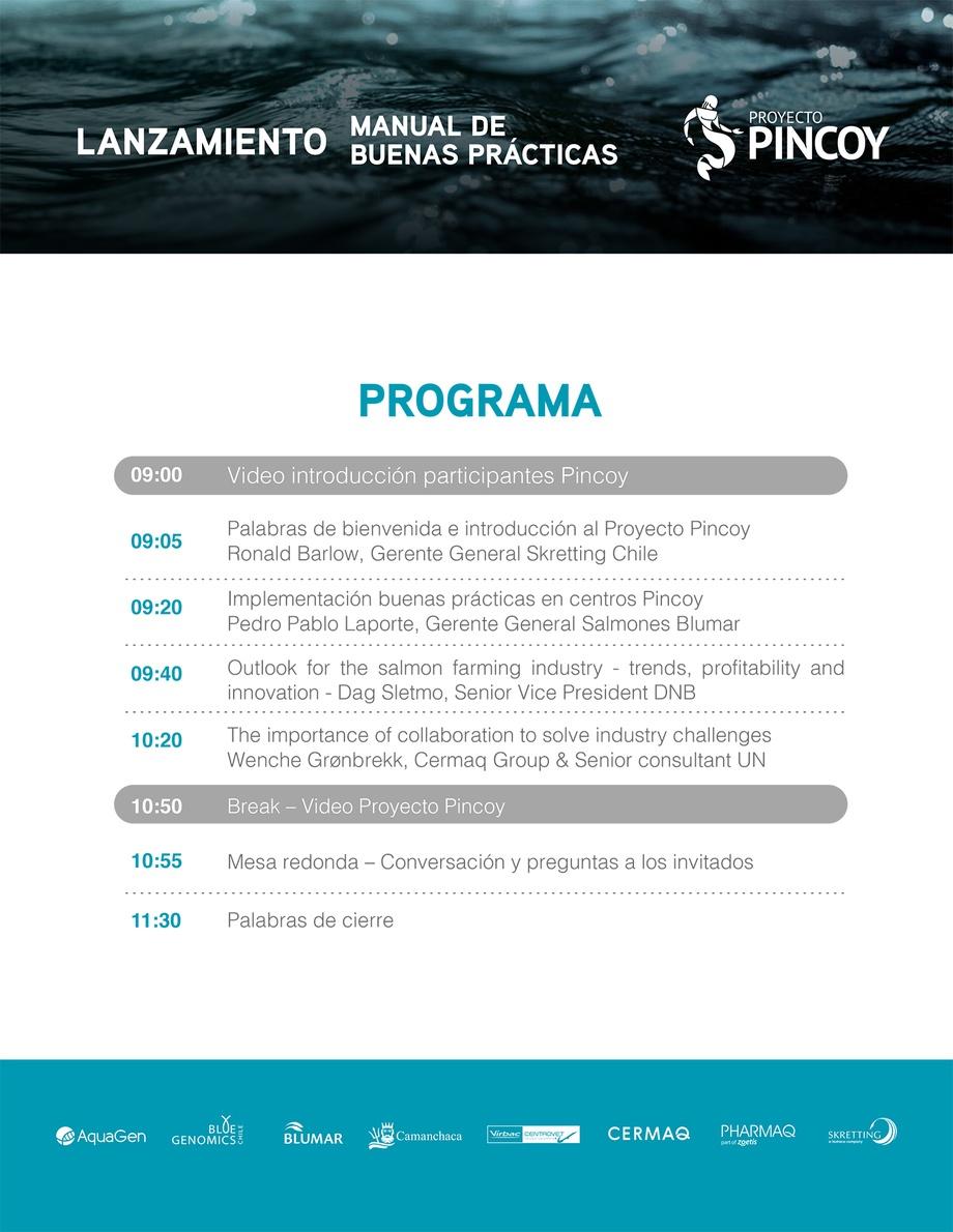 Programa lanzamiento Manual de Buenas Prácticas.