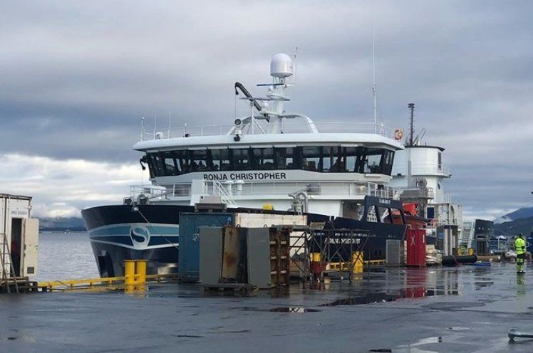 The Ronja Christopher is the latest addition to the fleet. Photo: Pål Mugaas Jensen.