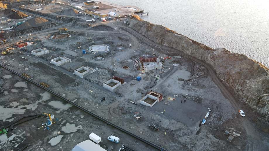 Another view of the site. Photo: Artec Aqua.