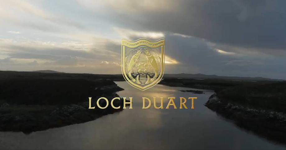 A still image taken from Loch Duart's promotional video.