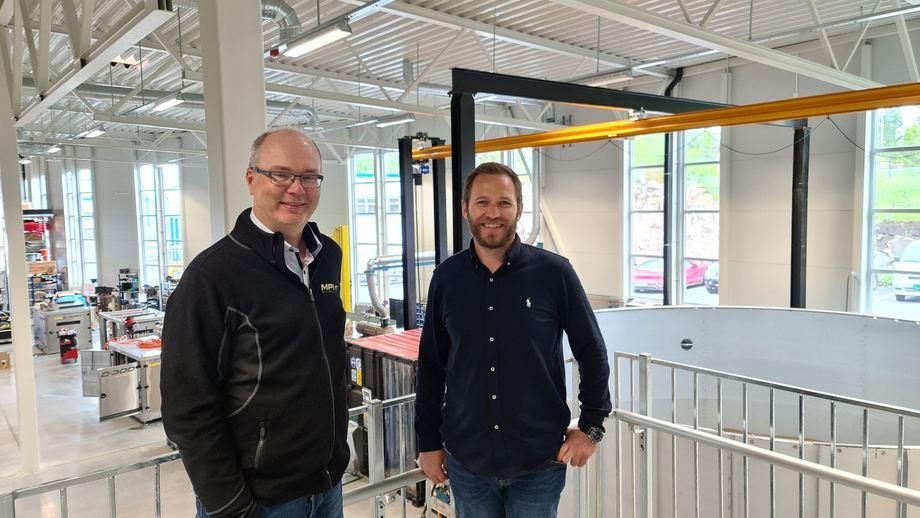 Kåre Myrvåg, Co-owner CEO and Thore Standal, Co-owner Commercial & Business Development Director