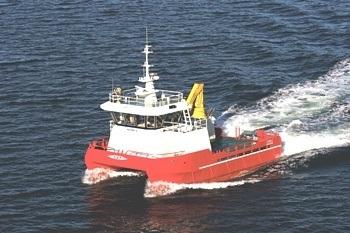M/S «ASTRID S» - arbeidskatamaran fra Risnes Marine Partner