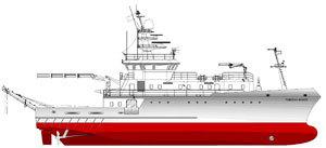 Ulstein Es-Cad har inngått kontrakt om å levere design til et havforskningsfartøy. Dette er den første kontrakten etter at tidligere Es-Cad Engineering ble en del av Ulsteinkonsernet 1.1.2007.
