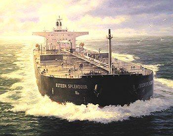 Dette maleriet var på ordre fra ExxonMobil.