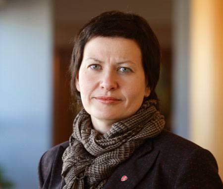 Fiskeri- og kystminister Helga Pedersen