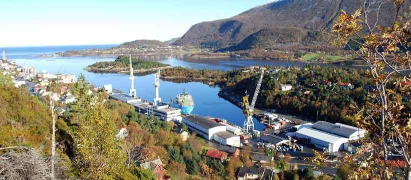 STX Europe's yard in Brattvaag, Norway