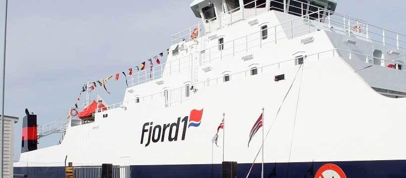 Fjord1 omsette for 789 millionar kroner i tredje kvartal. Illustrasjonsfoto: Fjord1
