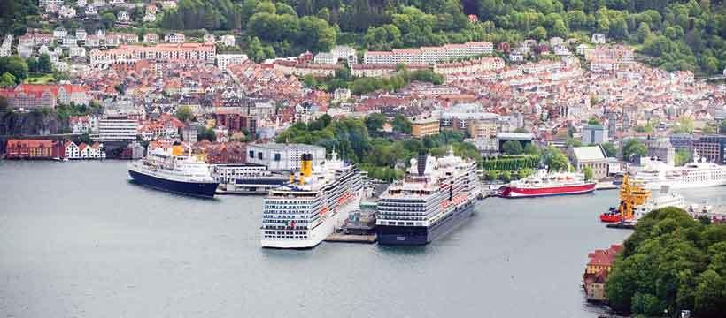Bergen Havn - et nydelig skue, og arena for råttent, politisk spill. Foto:Havnevesenet