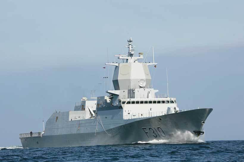 Søsterskipet F310