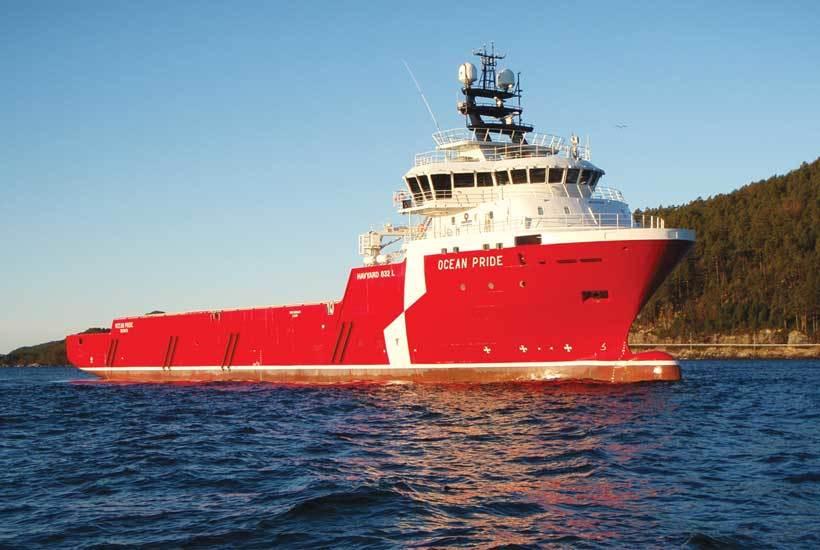 Atlantic Offshores «Ocean Pride»  er ett av fartøyene med Havyards populære «Havyard 832»-design, også kalt Nordsjøens arbeidshest.