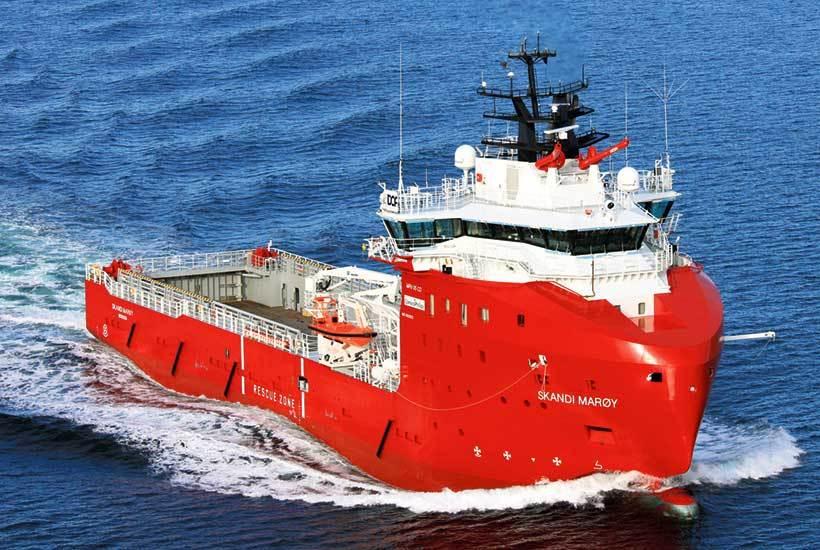 DOF-Management sitt skip «Skandi Marøy»  er ett av seks som kan bli tatt ut i streik