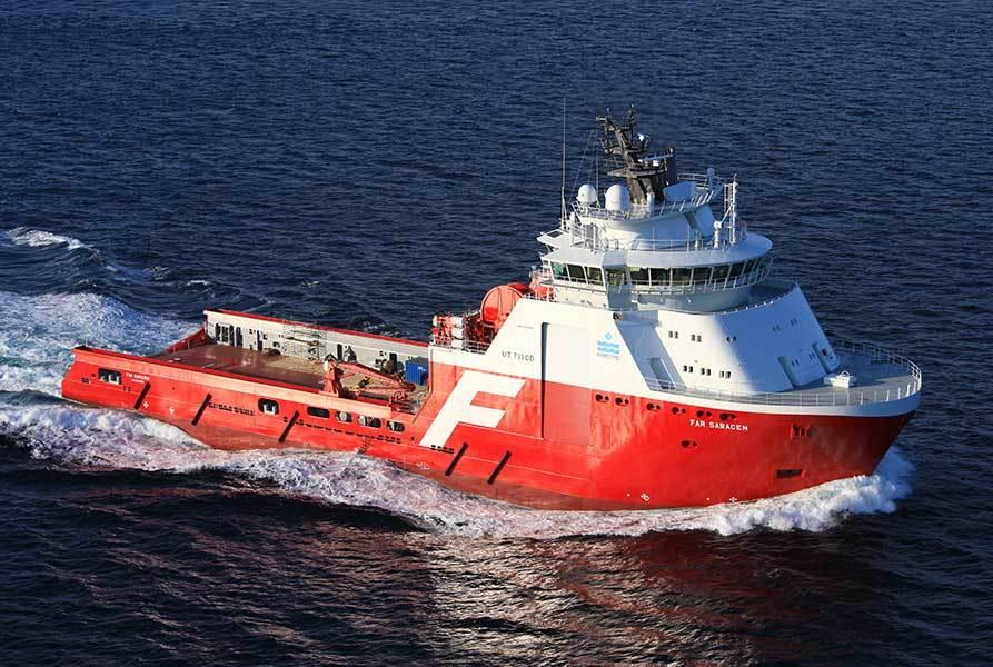 «Far Saracen» var ett av fartøyene som deltok i operasjonen. Arkivfoto: Solstad Offshore