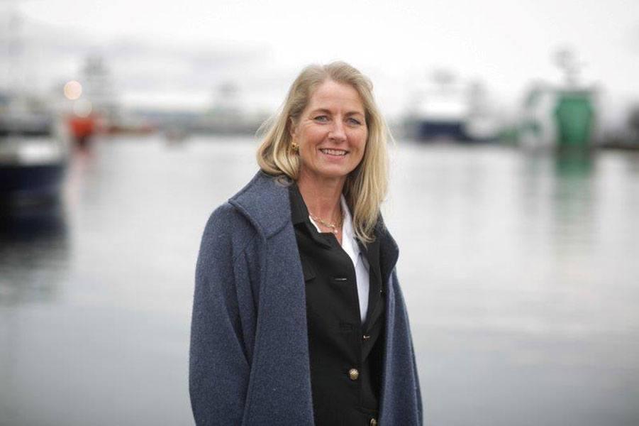 Camilla Grieg leder shippingselskapet Grieg Star fra hovedkontor i Bergen.