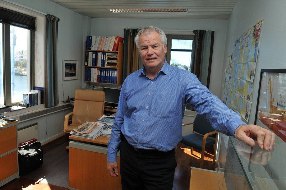 Adm.dir. Johan Rokstad i Østensjø Rederi