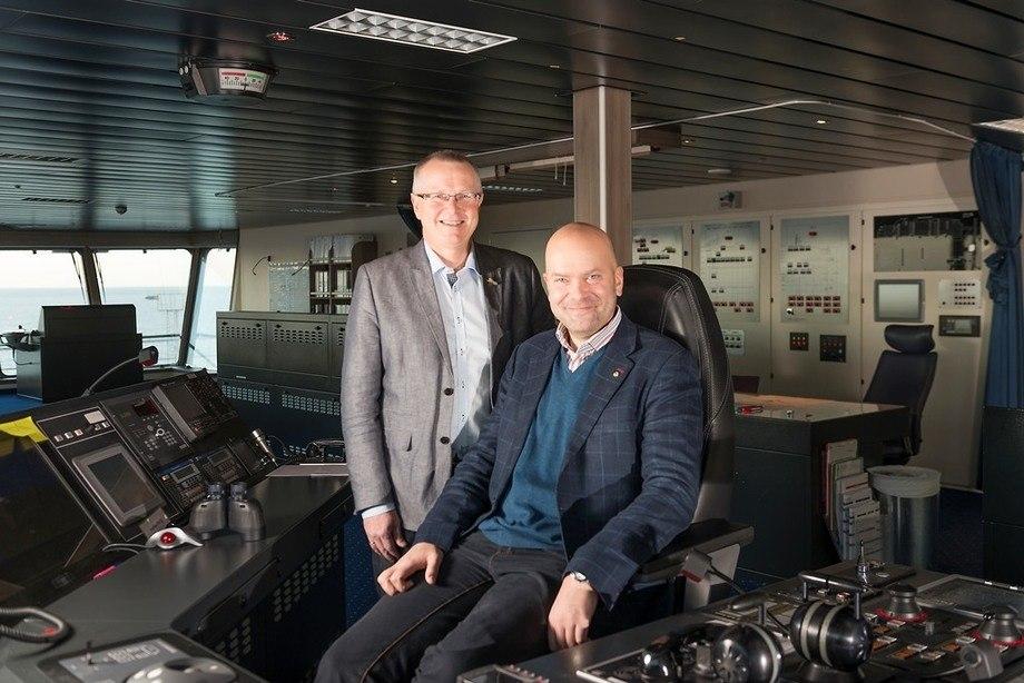 Ingvald Farda og Rickard Ternblom. Foto: Fjordline