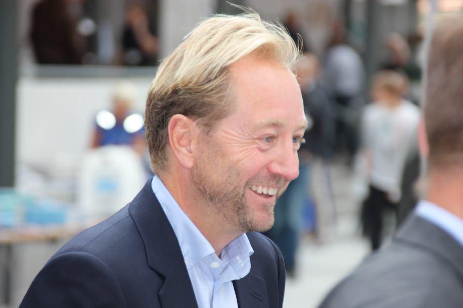 Kjell Inge Røkke vil gi tilbake til havet, og planlegger kjempebygg i Bærum. Foto: Asle Strønen