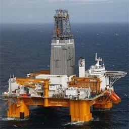 Flyteriggen «Deepsea Atlantic». Foto: Odfjell Drilling
