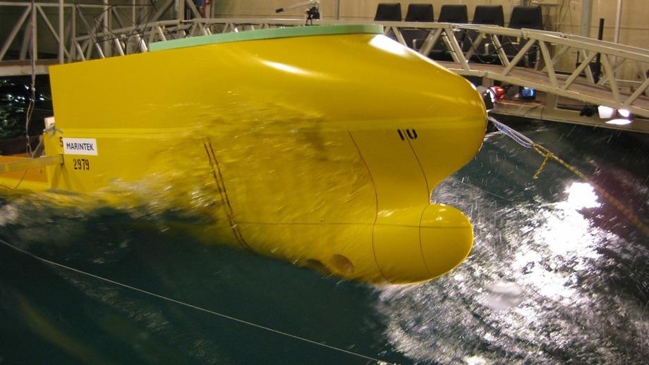 Tøffe tester: Havyard 931 CCV designet har gjennomgått omfattende tester, blant annet sjøegenskaper og drivstofføkonomi i grov sjø. Foto: Havyard.