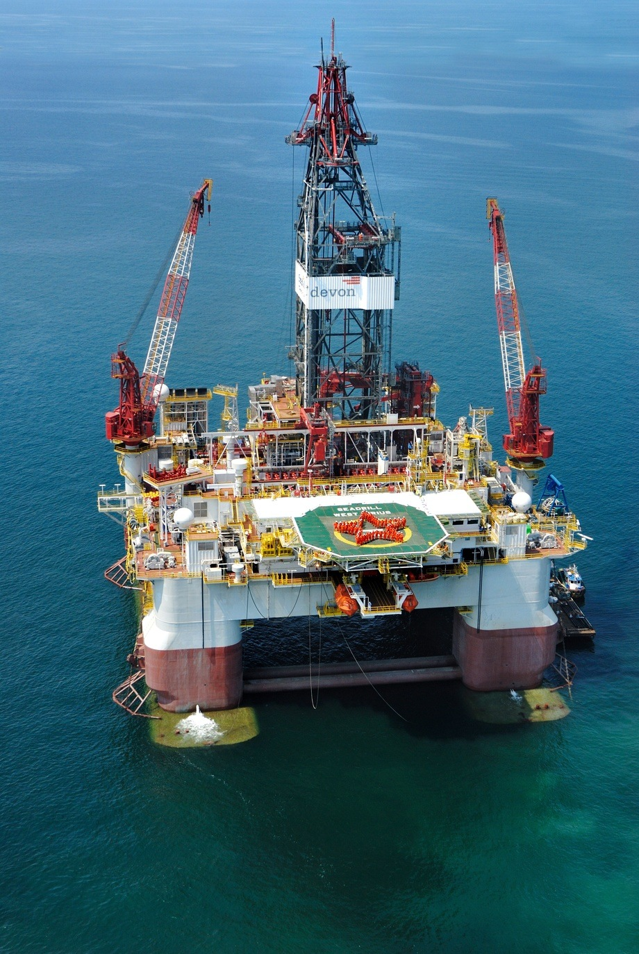 West Sirius. Internasjonale skipsverft savner flere kontraheringer av denne typen. Foto: Seadrill.