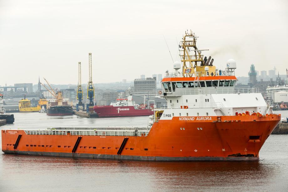 «Normand Aurora» har fått 12 måneder kontrakt på britisk sektor.