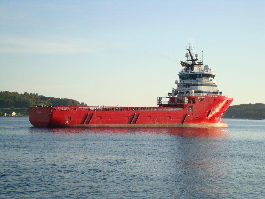 «Skandi Olympia» er ett av tre skip fra DOF som skal inn i milliardkontrakt i Brasil.