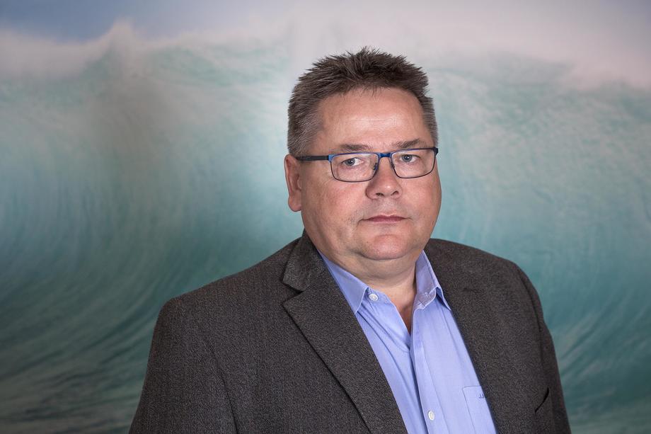 Leder av Sjømannsforbundet, Johnny Hansen, er ikke imponert over statsbudsjettet. Foto: Sjømannsforbundet.