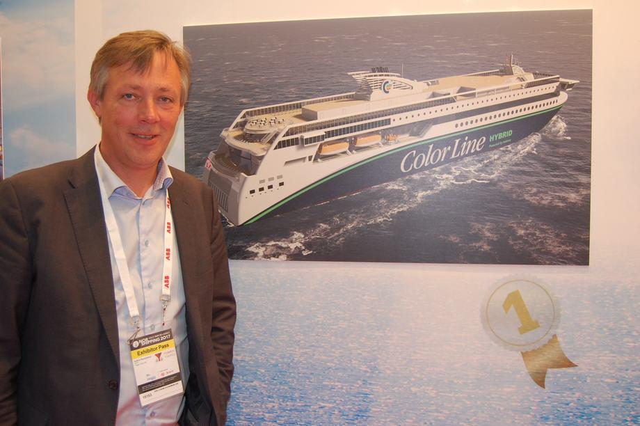 Anders Straumsheim er administrerende direktør ved Fosen Yard. Foto: Vibeke Blich