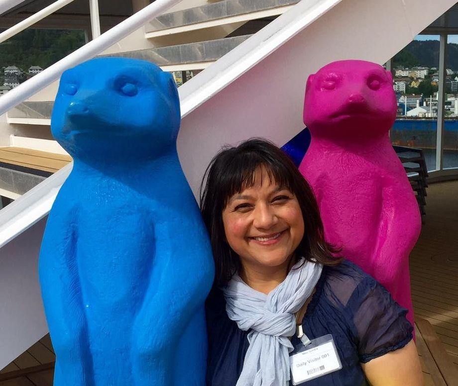 Sandra Diana Bratland har fått ny jobb. Foto: Cruise Norway