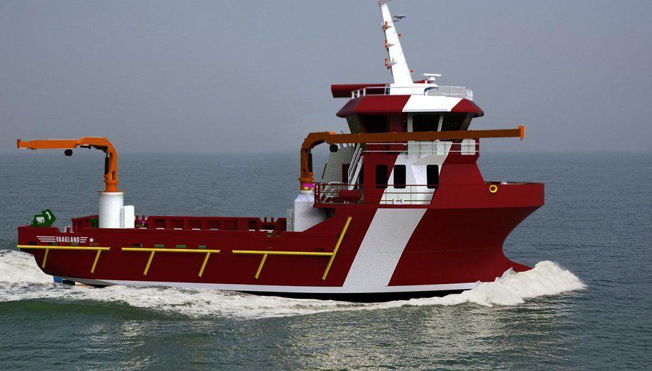 Vaagland servicebåtdesign bnr 155. Foto: Vaagland Båtservice AS
