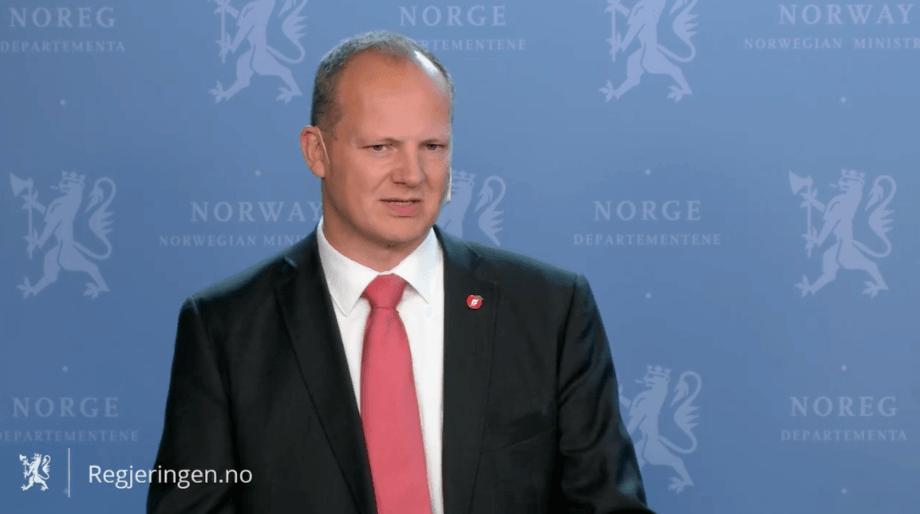 Samferdselminister Ketil Solvik-Olsen kunne i dag avsløre vinnerne av kystruten Bergen - Kirkenes