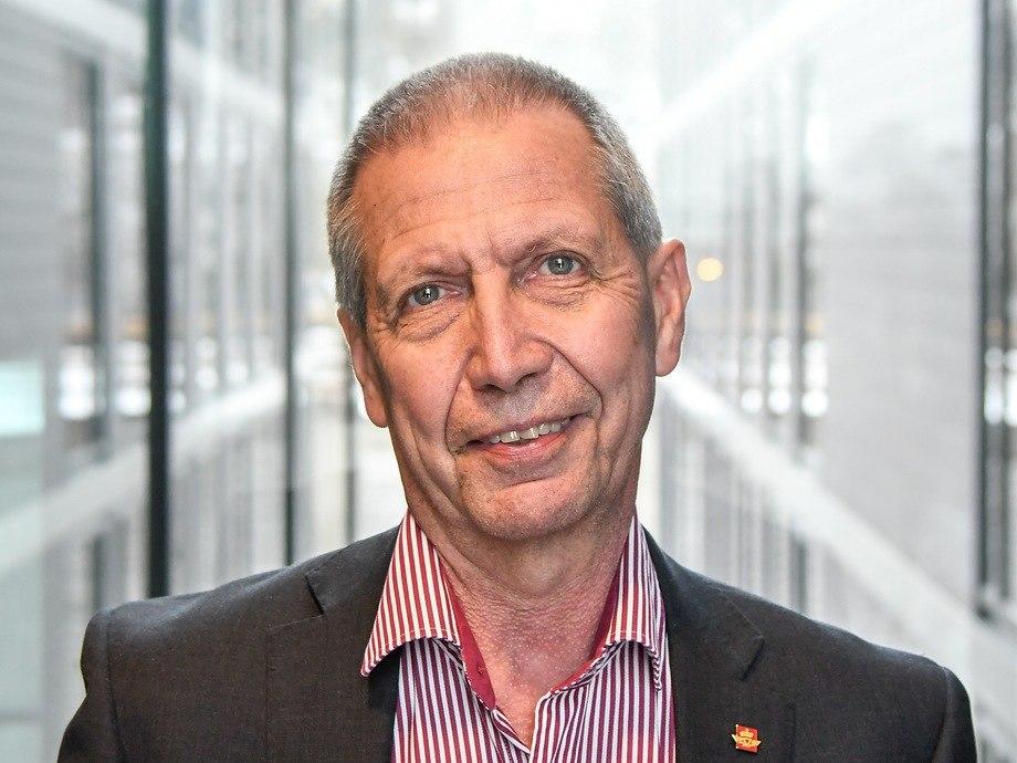 Vegdirektør Terje Moe Gustavsen, sjefen for Statens vegvesen. Foto: Knut Opeide