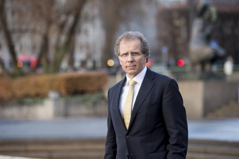 Administrerende direktør i Eksportkreditt, Otto Søberg,  frykter at 55.000 arbeidsplasser i de viktigste eksportnæringene kan forsvinne. Foto: Eksportkreditt