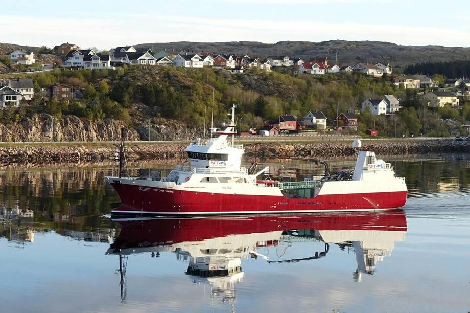 Salget av blant annet «MS Viktoria Viking» førte til en forbedring i driftsresultatet i fjerdekvartal. Foto: NTS
