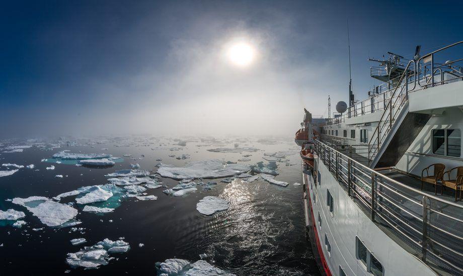 MS Spitsbergen. Foto: Karsen Bidstrup /Hurtigruten
