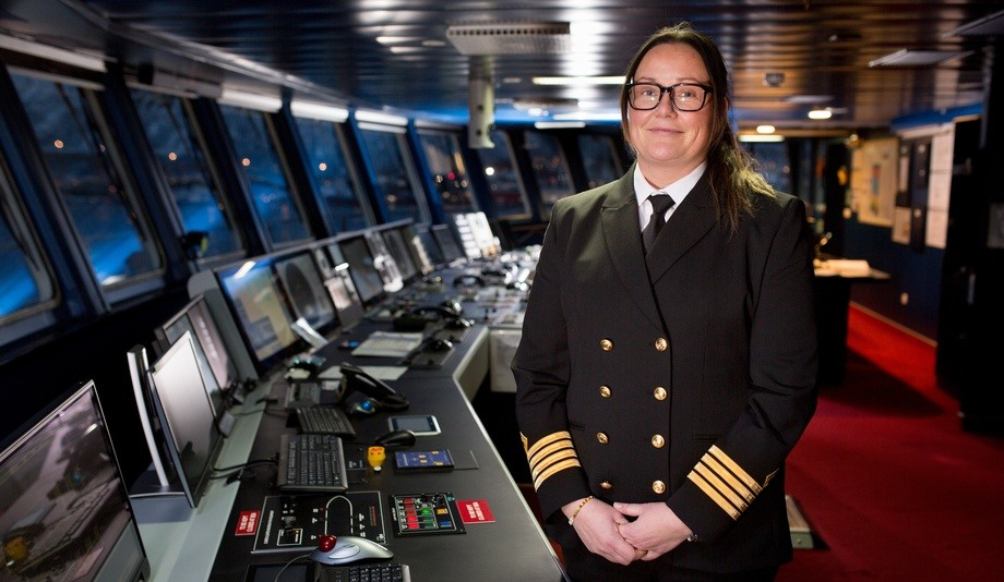Maryann Bendiksen var kaptein på M/S