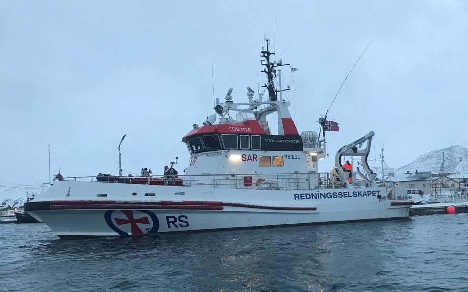 Denne redningsskøyten får i dag Mehamn som ny hjemmehavn. Foto: Redningsselskapet