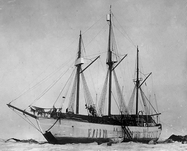 Maud-ekspedisjonen 1918-1925. Foto med tillatelse: Maudreturnshome.no