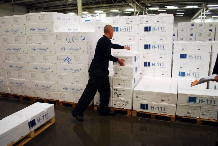 Verdien av sjømateksporten passerer den magiske 100-milliardersgrensen i år, spår  Sjømatrådet. Illustrasjonsfoto.