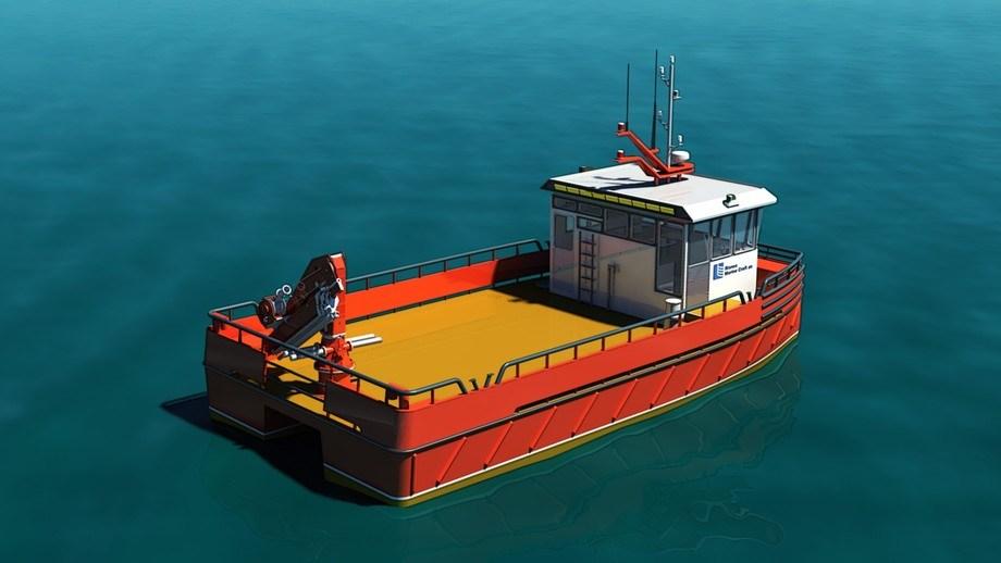 Skal du føre arbeidbåt over 8 meter, vil det nå bli stilt krav om kompetansesertifikat. Illustrasjonsfoto av arbeidsbåt: Risnes Marine.