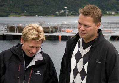 Magnus devold og Vidar Asphaug Patogen