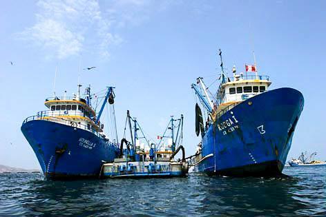 Fiskebåter fra Copeinca