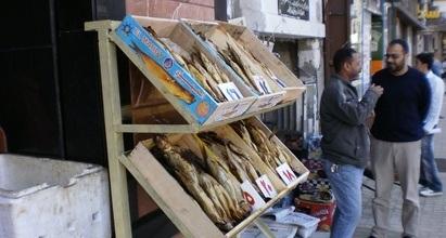 Afrikansk marked, fiskemarked