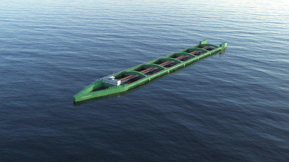 Havfarm-prosjektet til Nordlaks er det største prosjektet så langt når det gjelder utviklingsløyver. Illustrasjon: Bennett
