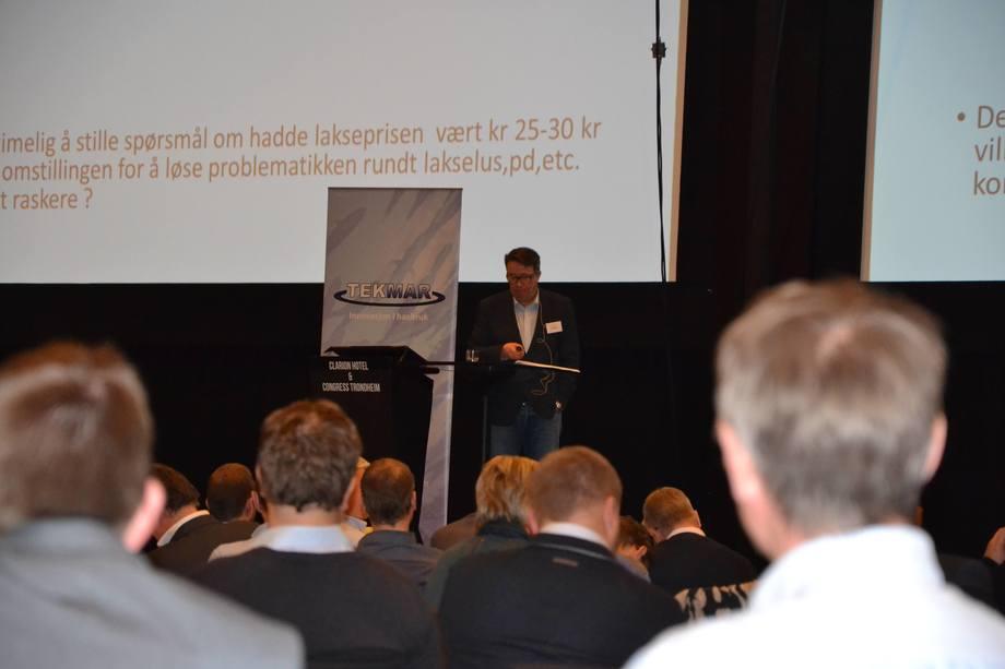Tarald Sivertsen på Tekmar 2015.
