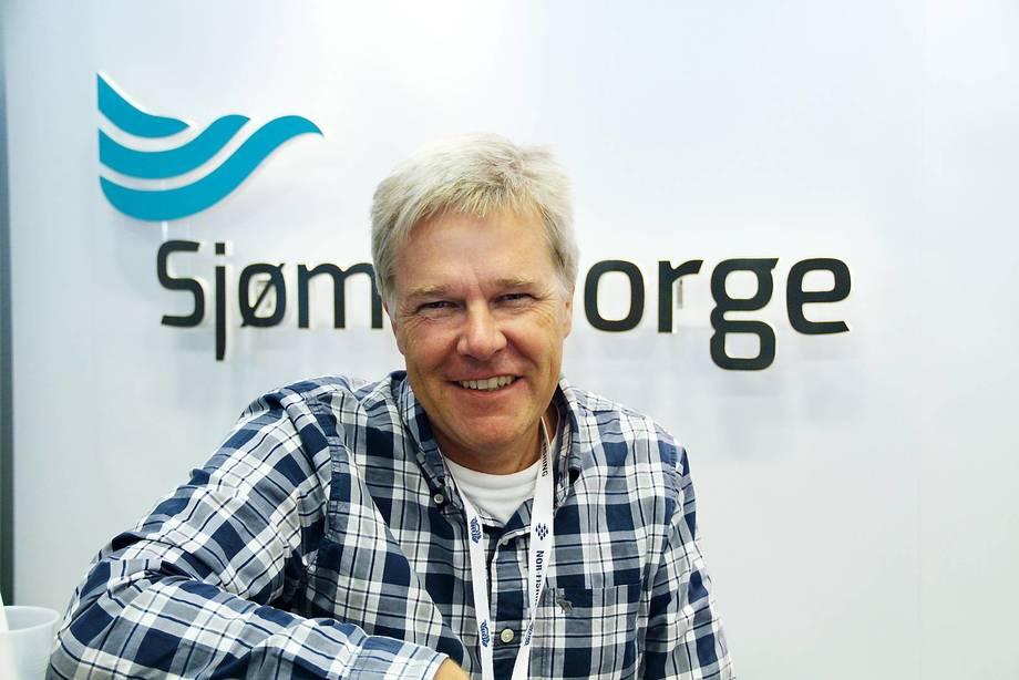 Direktør for havbruk i Sjømat Norge, Jon Arne Grøttum forteller om at digitalisering vil gjøre hverdagen enklere for sjømatnæringen. Foto: Sjømat Norge.