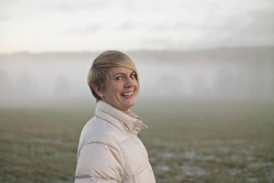 Borghild Hillestad, genetikksjef i Salmobreed. Foto: Salmobreed