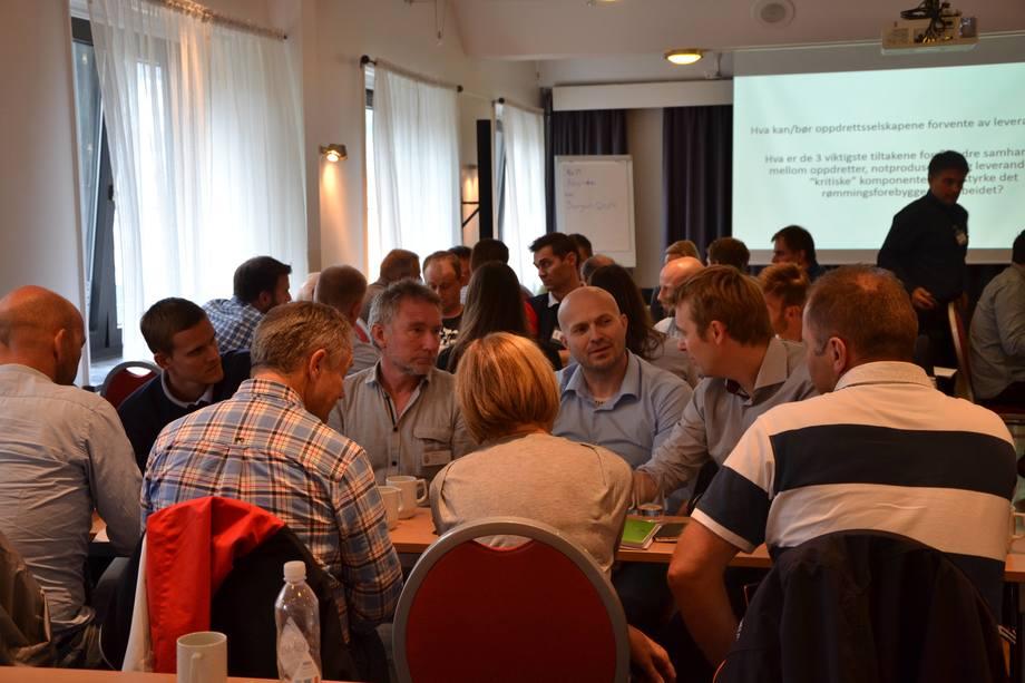 Fra tidligere dialogmøte i regi av Fiskeridirektoratet.